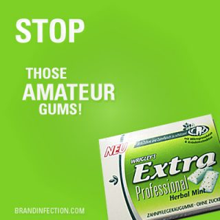 Wrigley's Extra Professional Chewing Gum