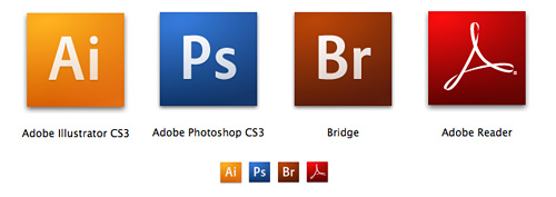 Adobe Icon Rebranding