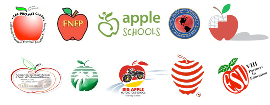 Apple logos used by education institues