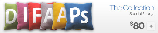 The Great Collection of App Pillows