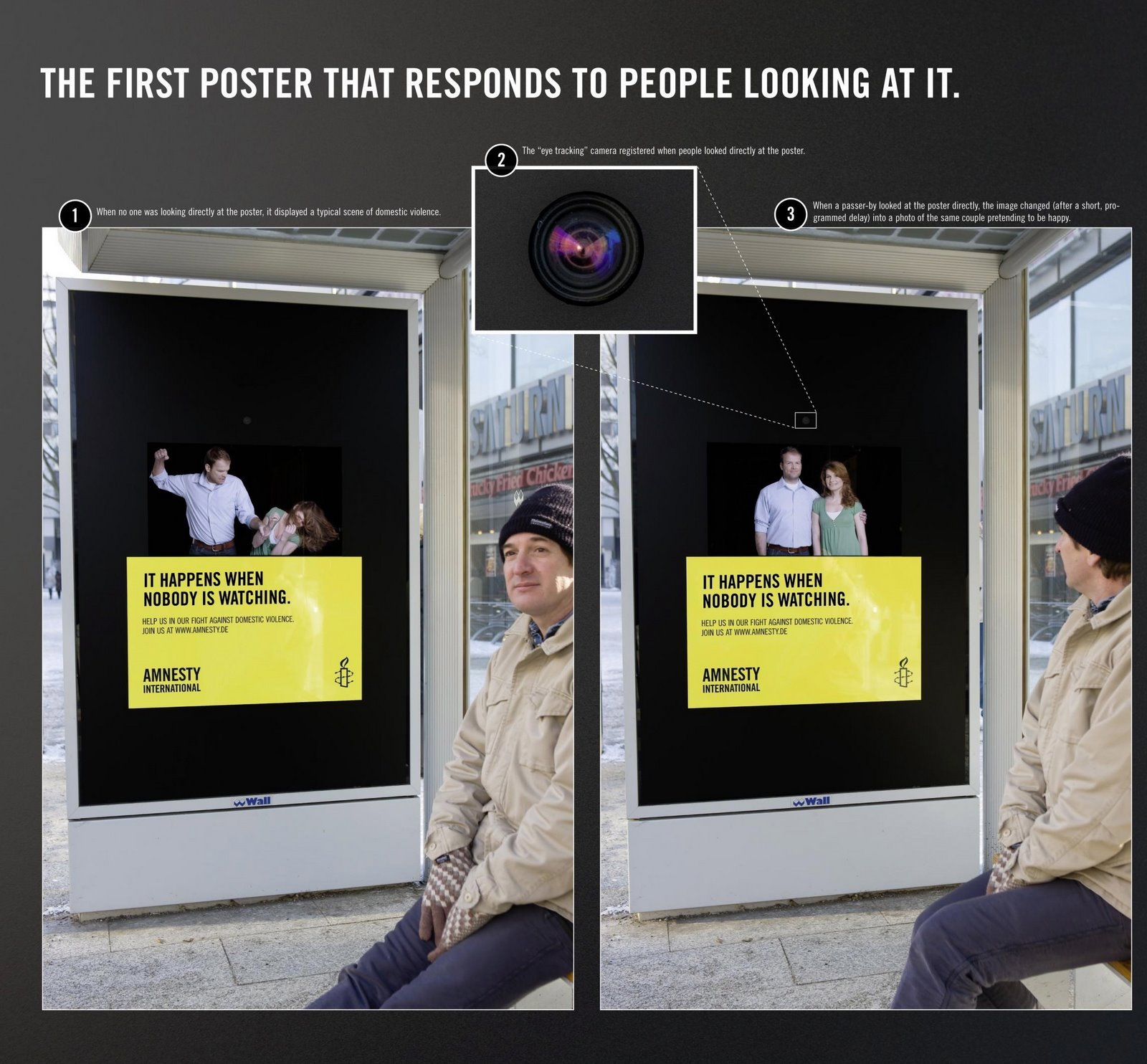 Amnesty International Advertisement