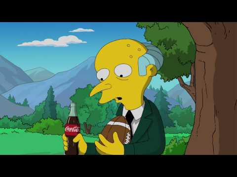 Coca-Cola Simpsons Ad at Super Bowl 2010