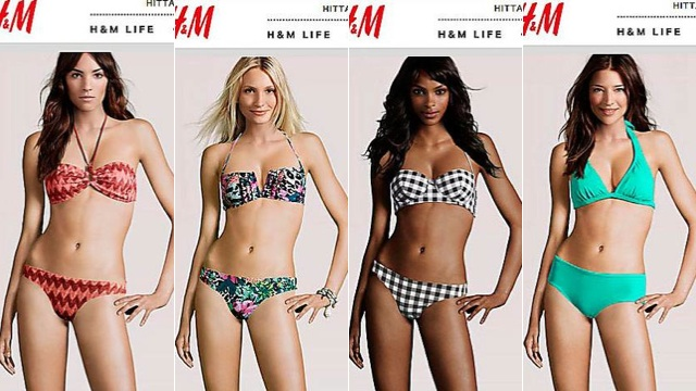 H&M's Model Photos Have Fake Body And Real Head