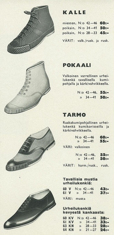 Nokia Shoes 1936