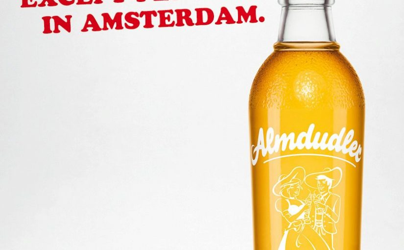 Almdudler Advertisement: You Won't Find More Herbs … Except In Amsterdam