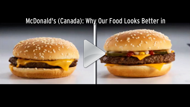 Why Your McDonald's Burger Looks Different Than In The Ad