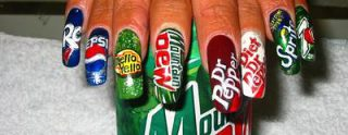 Branded Nails Image 2 - Mountain Dew, Dr. Pepper, Sprite, Pepsi