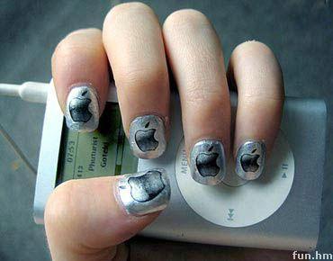 Branded Nails: Apple