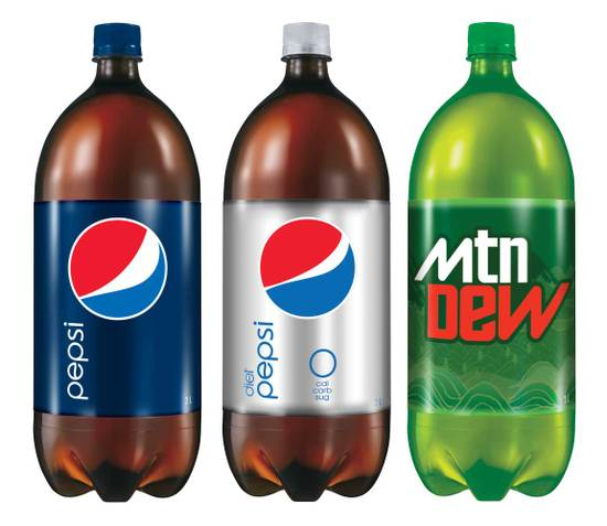 Pepsi New Bottles