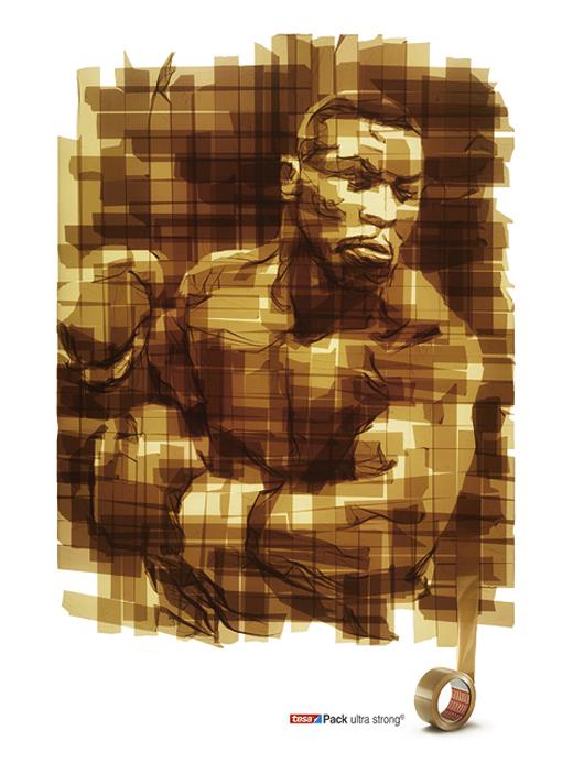 Tesapack Ultra Strong Advertisement - Boxer