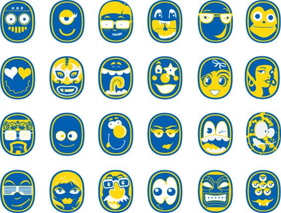 chiquita-banana-redesign-sticker-set.jpg