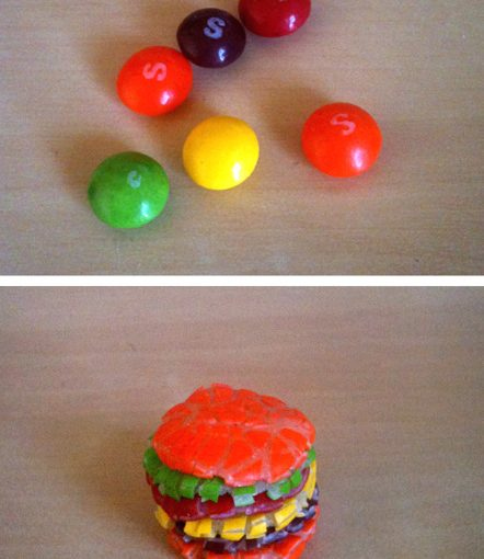 How To Make A Skittles Burger