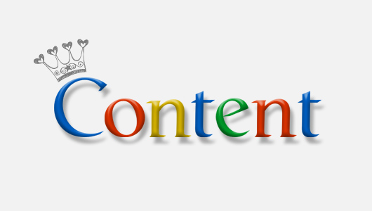 Google - Content Is King