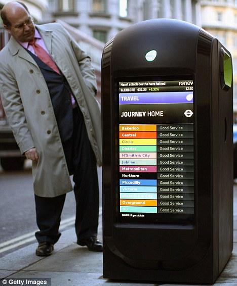 Smart Bins Underground Service London